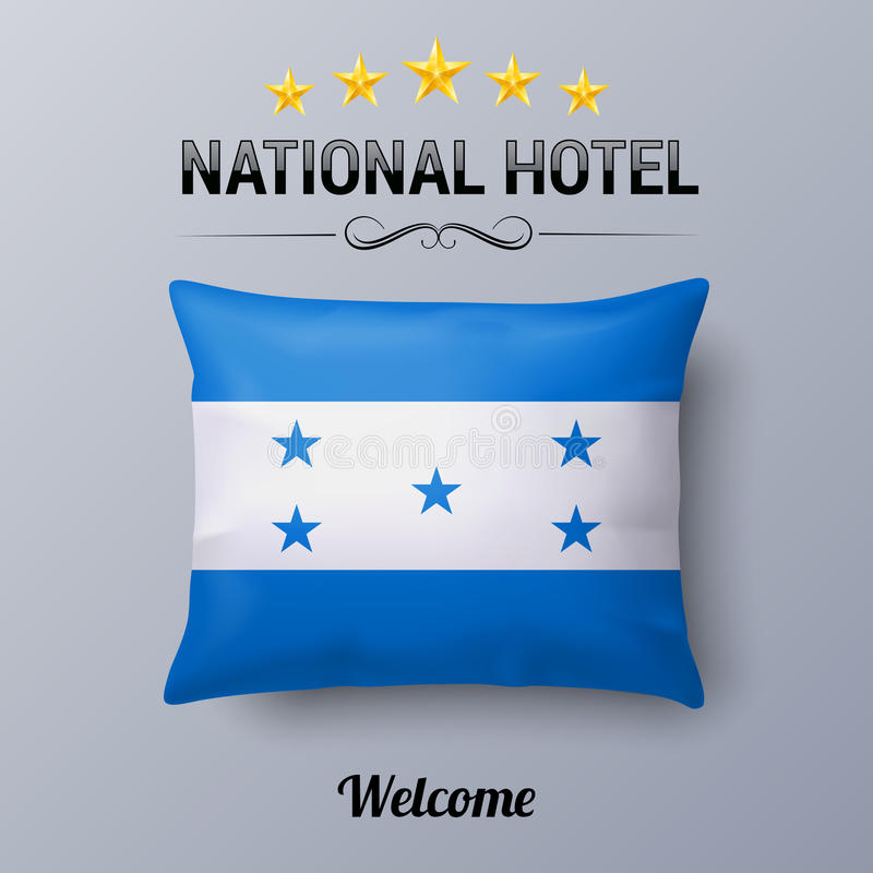 Hôtel national illustration de vecteur