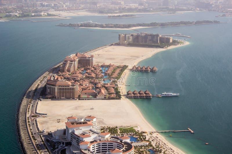 Hôtel royal d'Amway à la paume Jumeirah photo stock