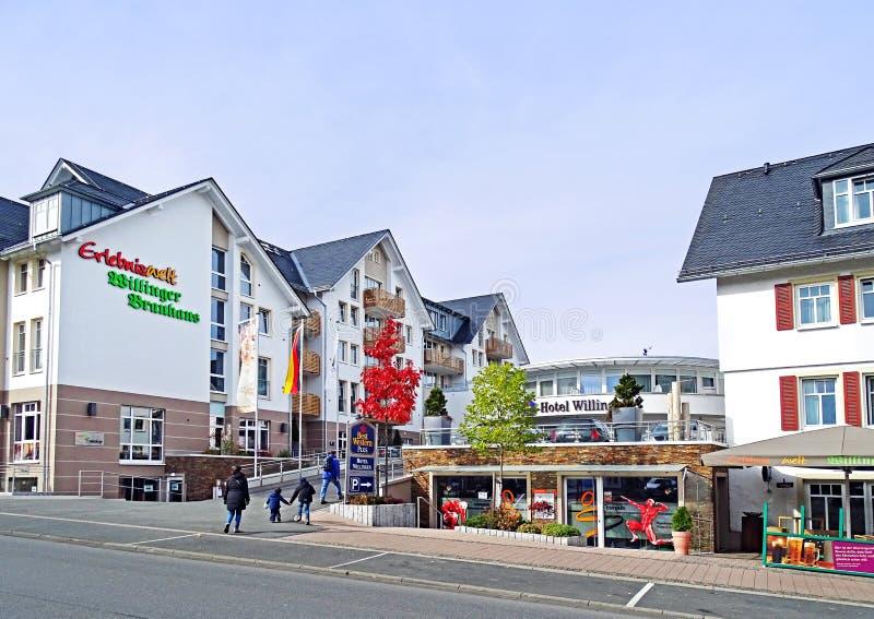 Hôtel Willingen Allemagne de Best Western images stock