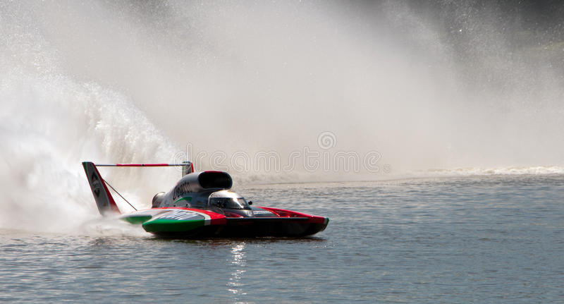 Miss Madison Off-Shore Racing Boat Editorial Stock Image - Image of