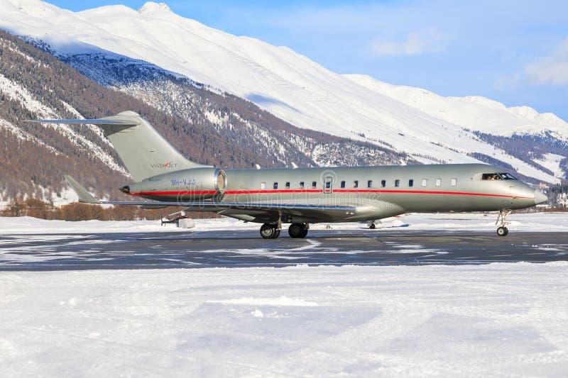 9h-VJJ - Bombardier Globale 6000 - VistaJet stock fotografie