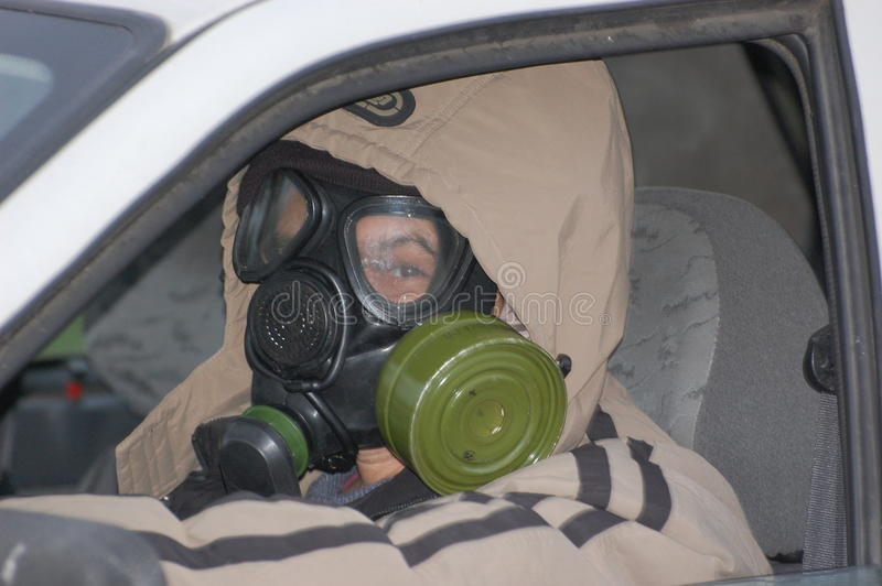 h1n1 πανικός Ουκρανός στοκ εικόνα με δικαίωμα ελεύθερης χρήσης