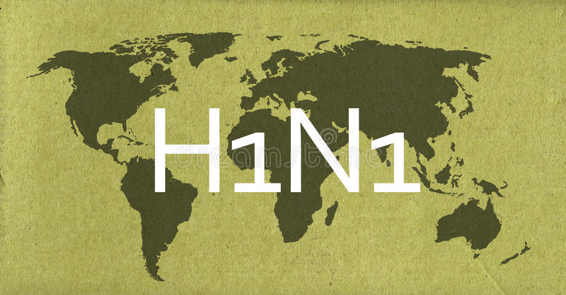 H1N1 fotografía de archivo libre de regalías