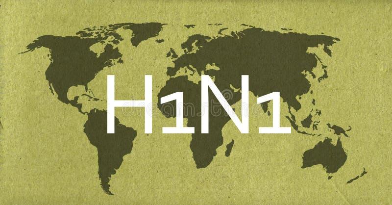H1N1 lizenzfreie stockfotografie