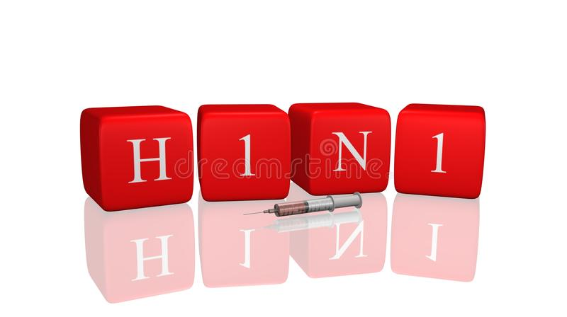 Download H1N1 stock illustration. Image of injection, sickness - 12899025