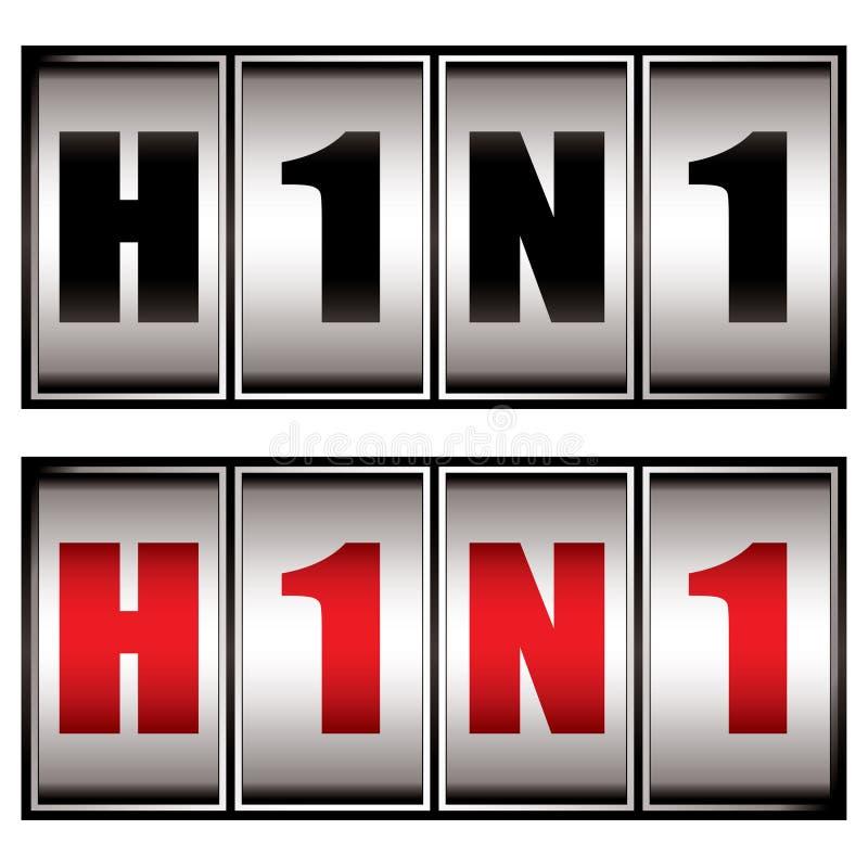 Download H1n1 dial stock vector. Illustration of component, bevel - 12038516