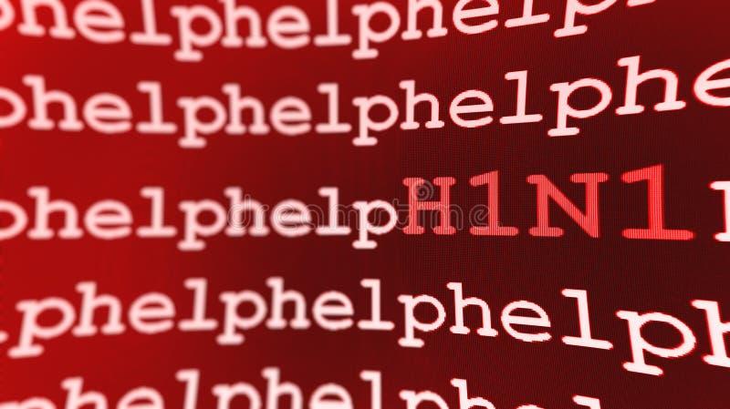 Download H1N1 help background stock illustration. Image of background - 11600093