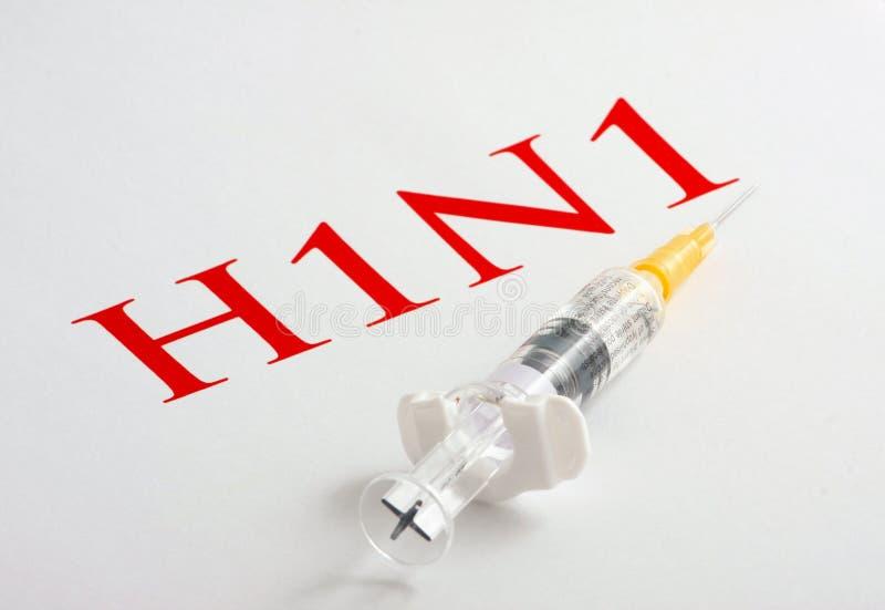 H1N1 Influenza Virus royalty free stock image