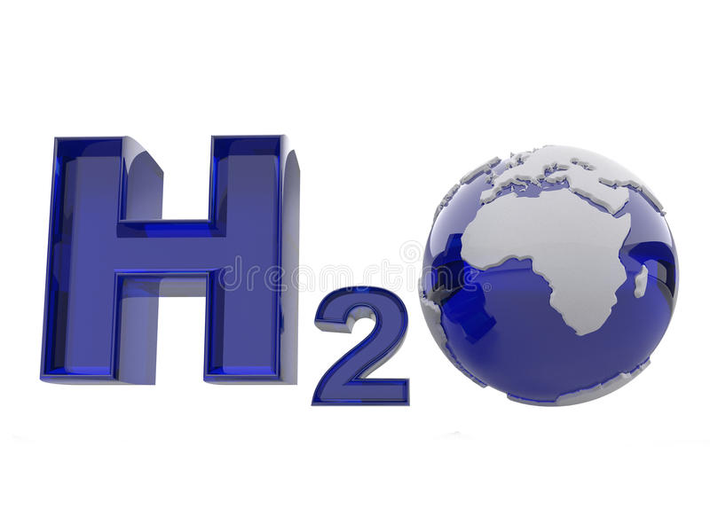 Download H2O. Formula Of Water. Royalty Free Stock Photo - Image: 17481445