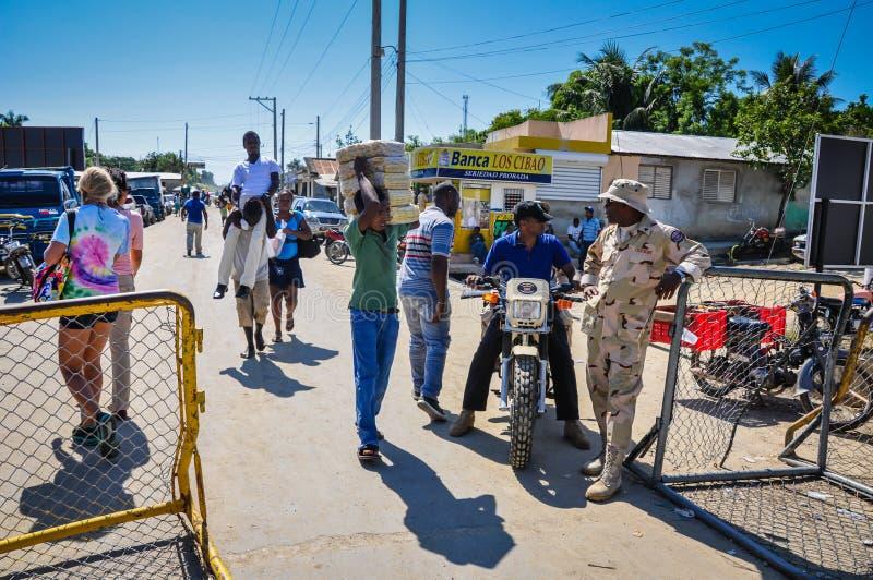 Haïtiaanse Grens stock afbeeldingen