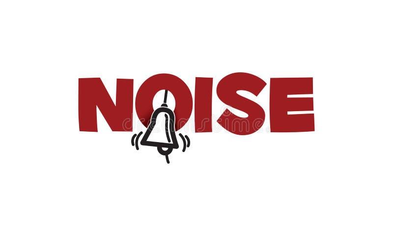 Hałasu loga projekt ilustracji