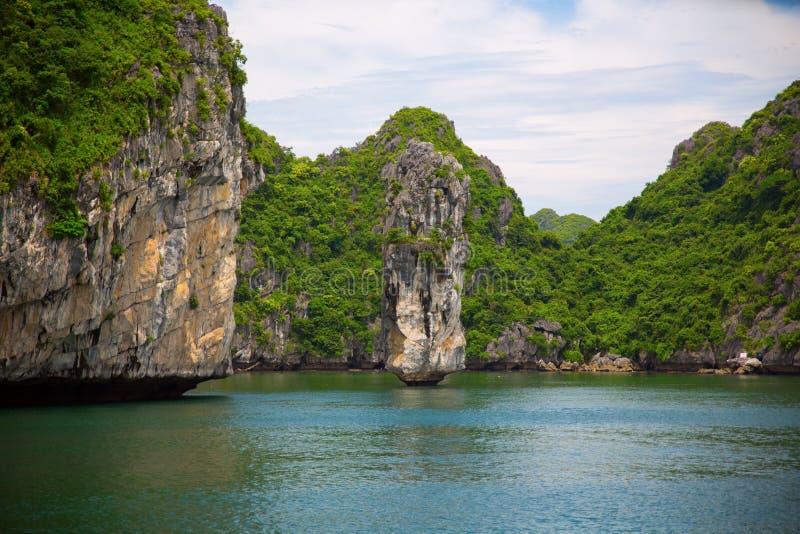 Ha长海湾在越南 免版税图库摄影