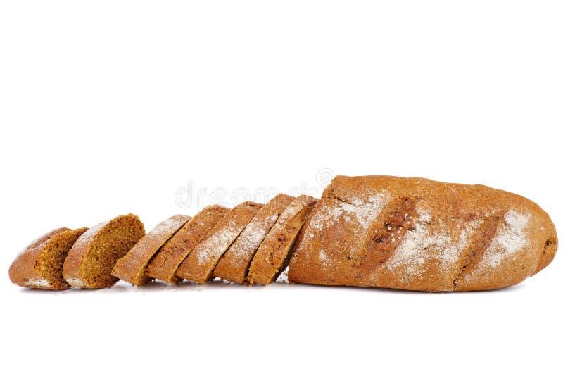 Ha affettato le baguette francesi fresche della segale fotografia stock libera da diritti