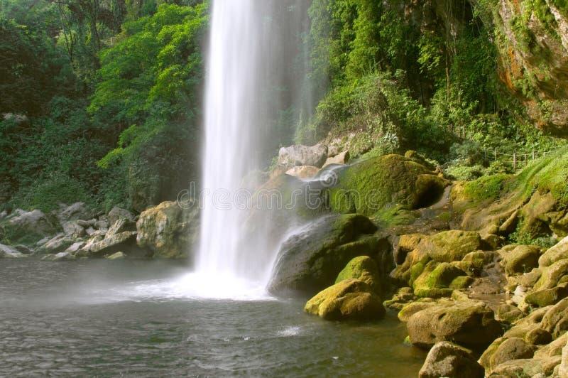 ha cascada wodospad misol zdjęcia royalty free