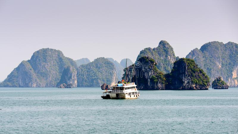 Ha de largo, Vietnam fotografía de archivo