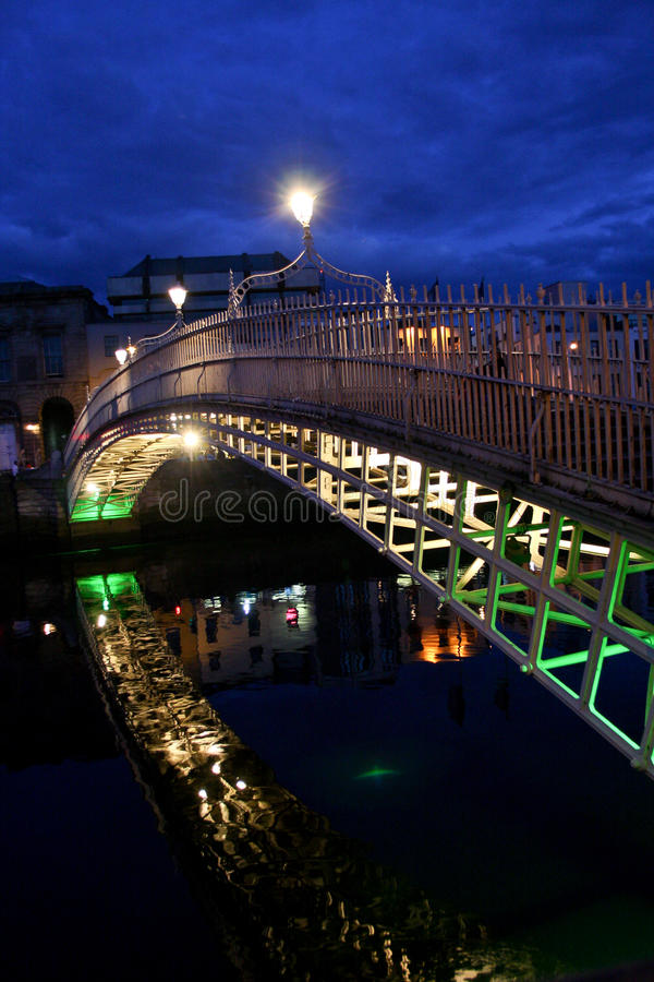 Ha de ` Penny Bridge, Dublin, Irlande photo stock