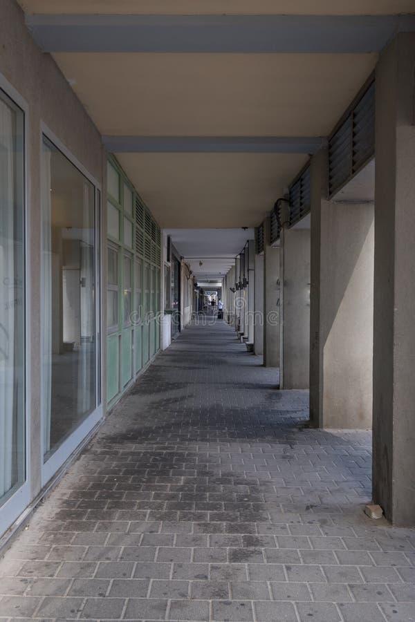 Ha del ` de ` del arba una calle, Tel Aviv imagenes de archivo