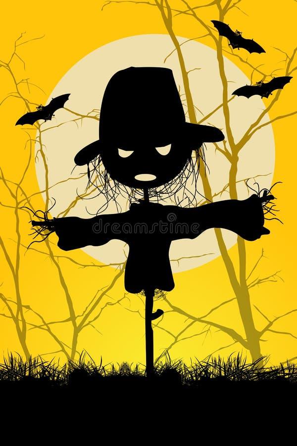 Ha en spöklika Halloween vektor illustrationer