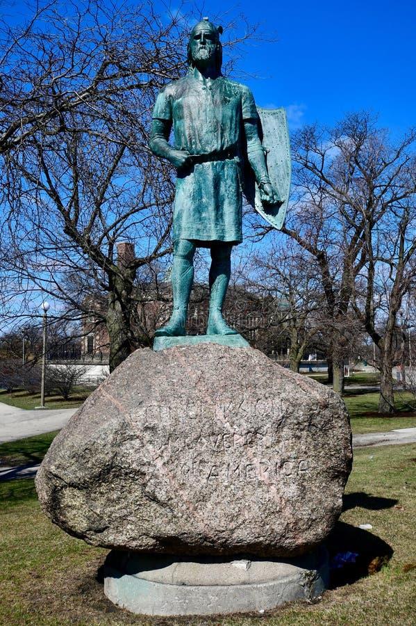 Ha fatto il monumento di Erickson immagine stock