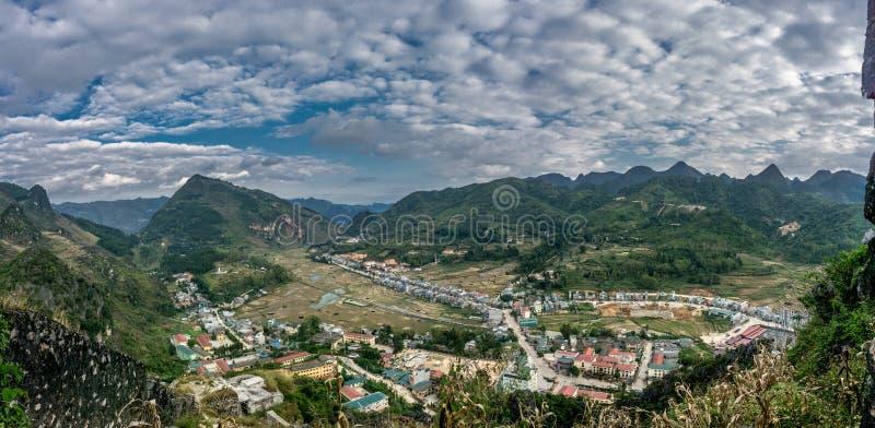 Ha Giang, Vietnam. Van (Ha Giang) Vietnam - UNESCO Geopark stock images