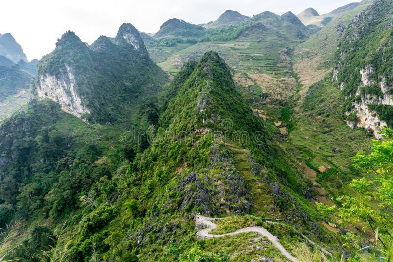 Ha Giang, Vietnam. Van (Ha Giang) Vietnam - UNESCO Geopark stock photos