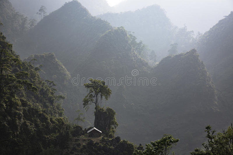 Ha Giang, Vietnam royalty free stock photo