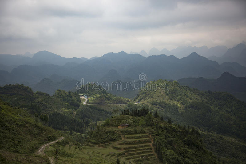 Ha Giang, Vietnam royalty free stock photos