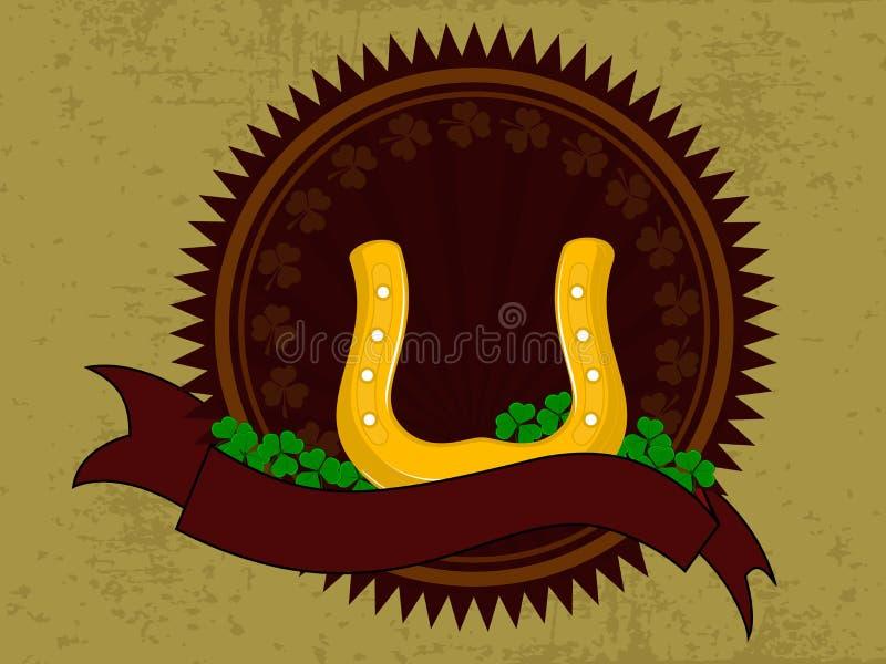 ha hästbandskon royaltyfri illustrationer