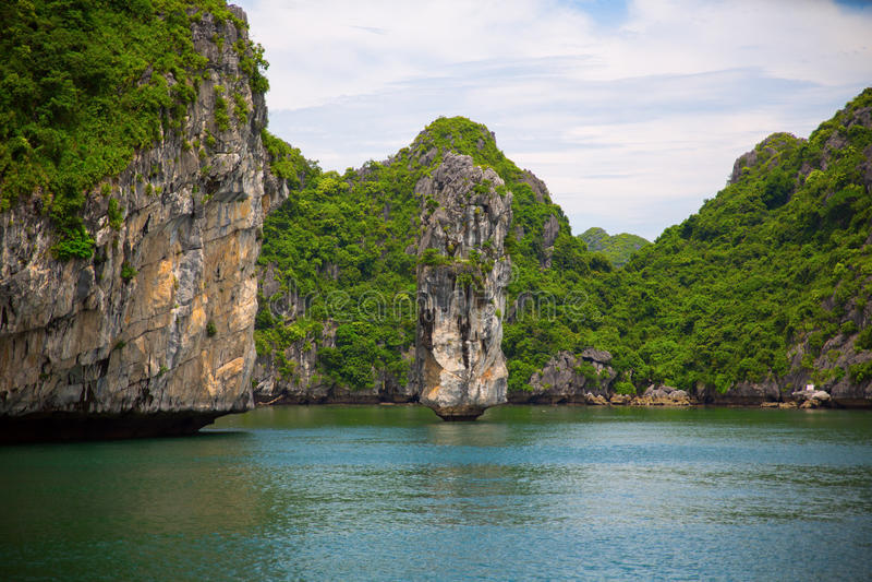 Ha-langer Schacht in Vietnam lizenzfreie stockfotografie