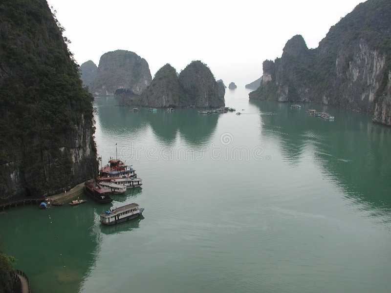 Download Ha Long Bay stock photo. Image of culture, architecture, color - 1014