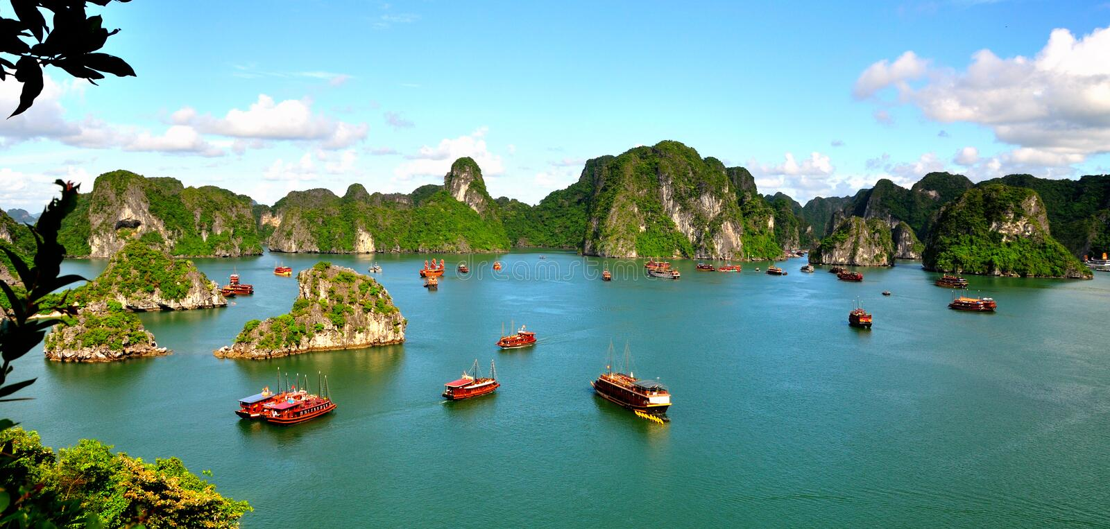 Ha Long Bay stock image