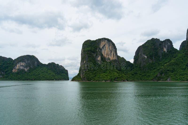 Ha Long bay landscape with islands stock photos