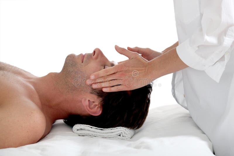 ha manmassage fotografering för bildbyråer