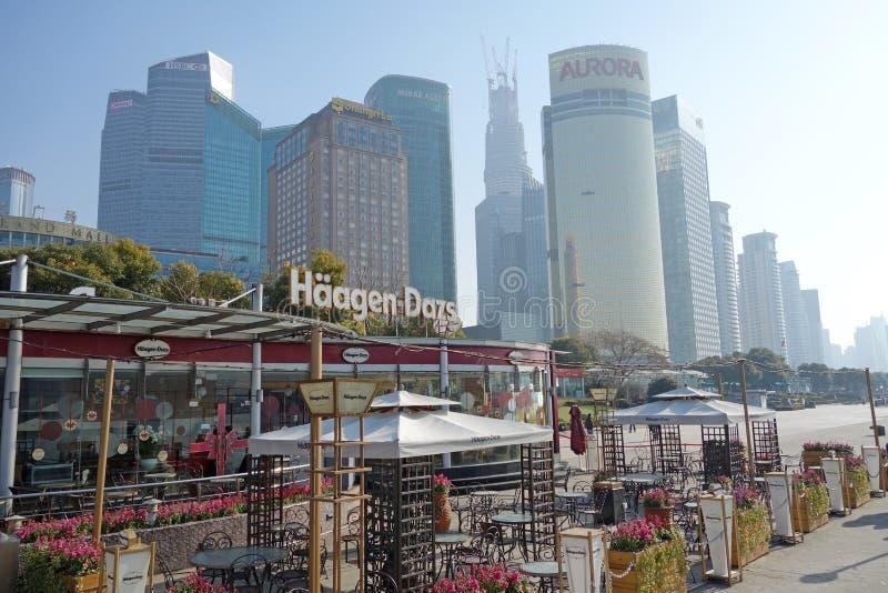Haagen-Dazs ice cream store stock images