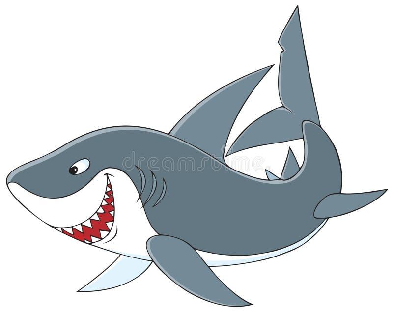 Haai vector illustratie