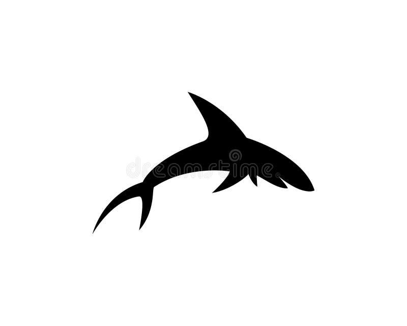 Haai vectorpictogram stock illustratie