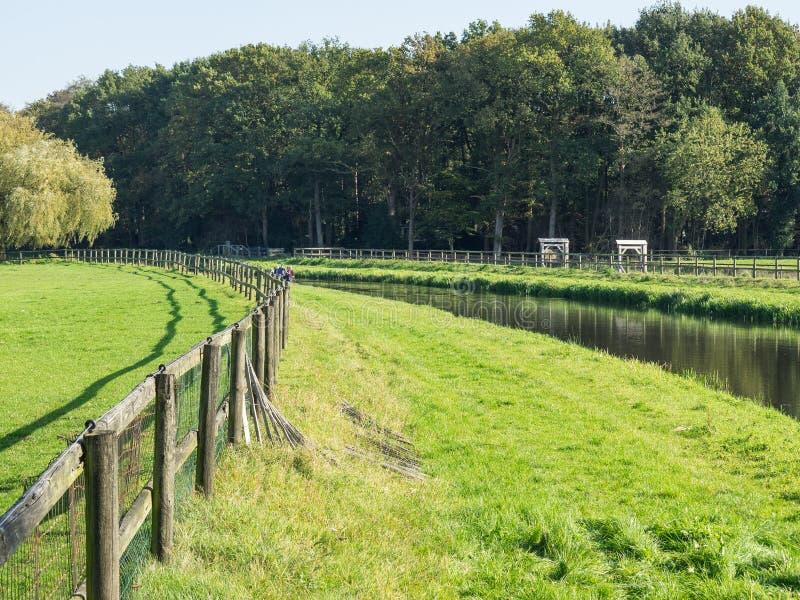 Haaksbergen nos Países Baixos fotos de stock