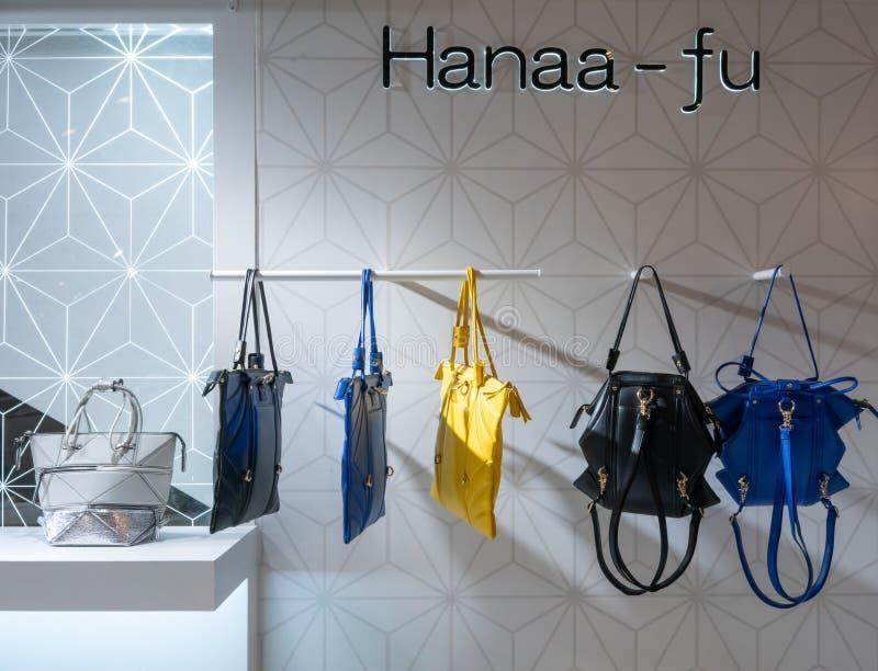 Haana-Fu sklep przy Terminal 21, Bangkok, Tajlandia, Maj 7, 2018 zdjęcie royalty free
