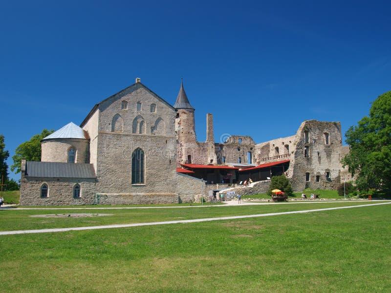 Haapsalu Episcopal Castle Royalty Free Stock Images