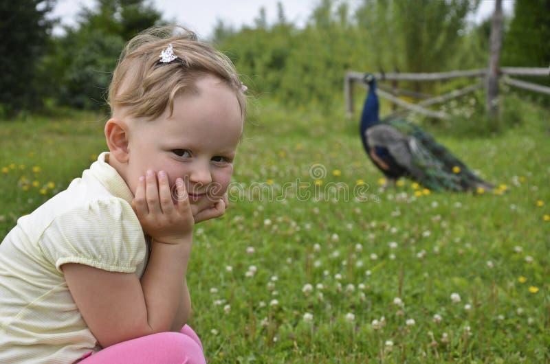 Haar Regrowth im Alopecia areata in einem Kind. lizenzfreies stockbild