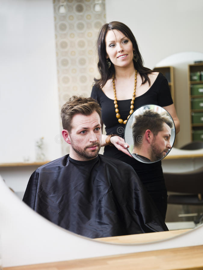 Haar-Salonsituation lizenzfreie stockbilder