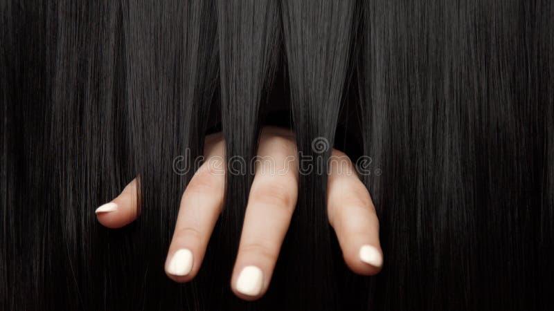 Haarbeschaffenheitshintergrund, keine Person lizenzfreie stockbilder