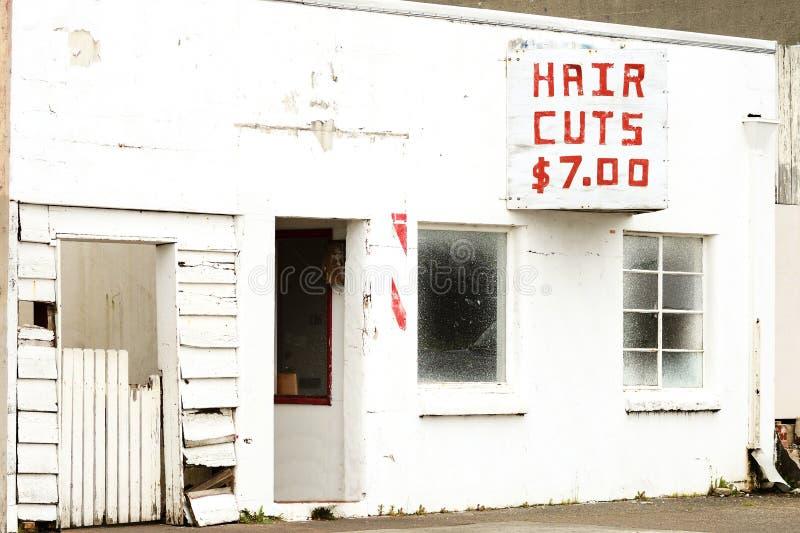 Haarbesnoeiing stock foto's