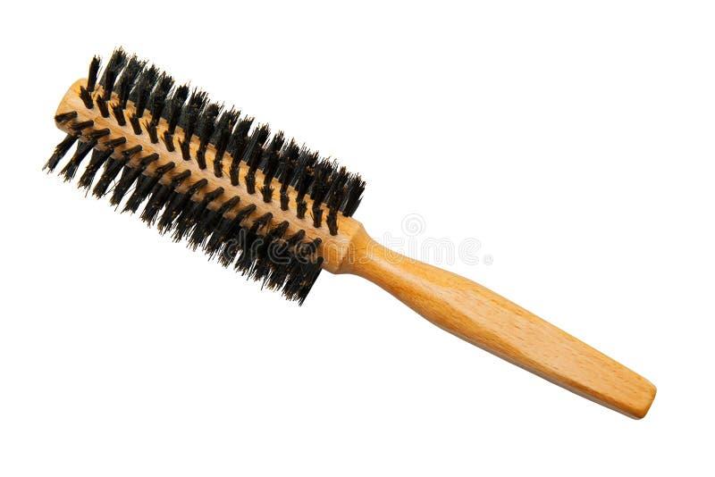 Haarborstel stock foto's