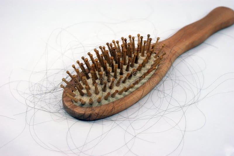 Haarfall lizenzfreie stockfotografie