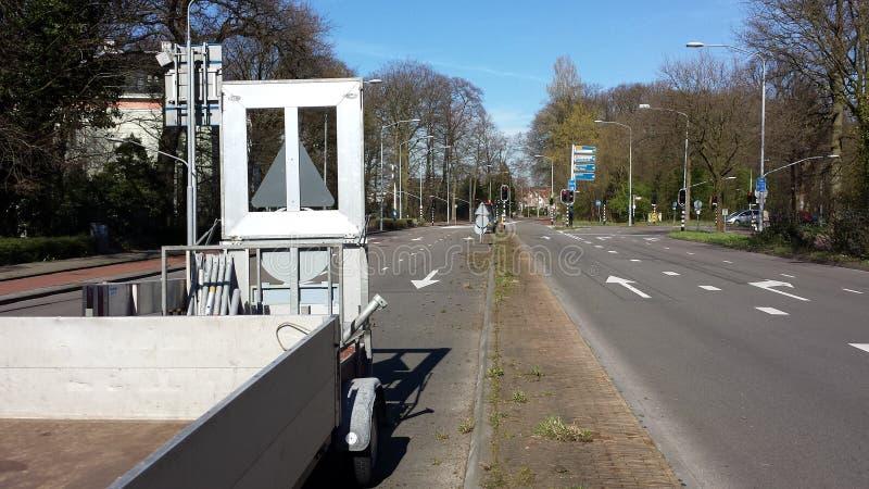 Haarlem auf der Straße lizenzfreies stockfoto