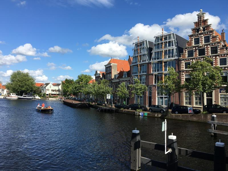 Haarlem landscape in Netherlands royalty free stock photos