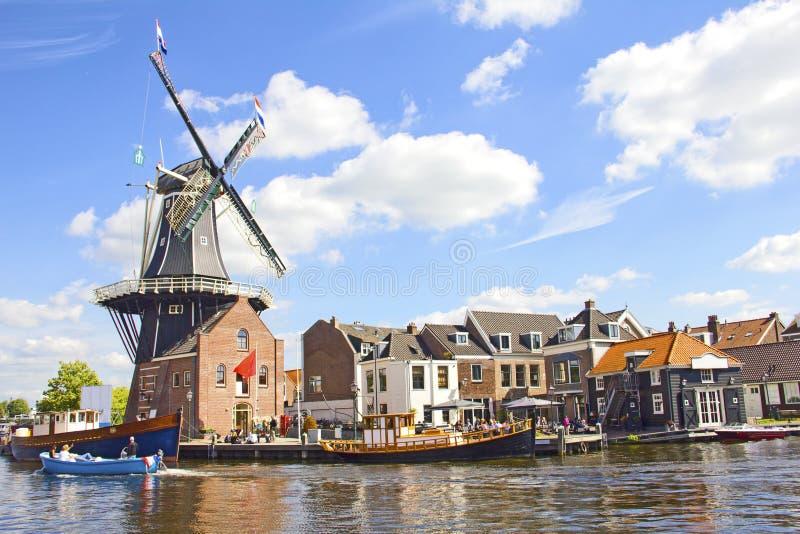Haarlem Nederländerna fotografering för bildbyråer