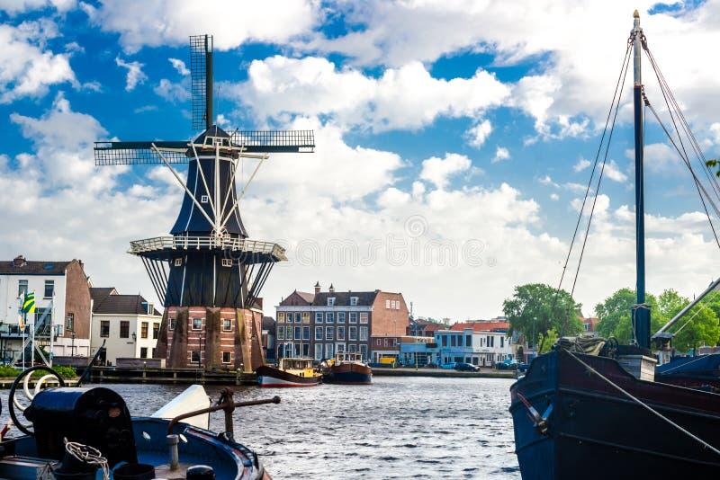 Haarlem Nederländerna royaltyfria bilder