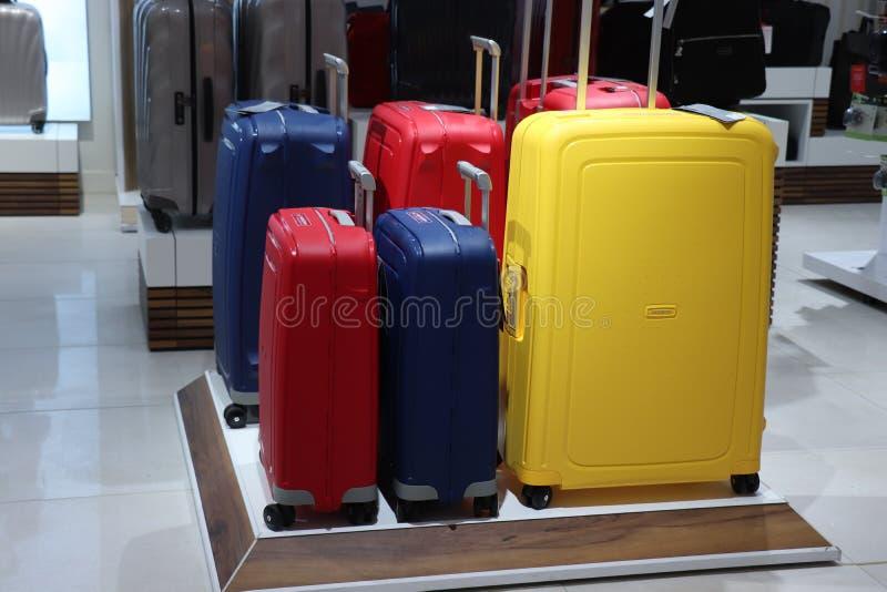 Haarlem, os Países Baixos - 8 de julho de 2018: Departamento da bagagem imagem de stock royalty free